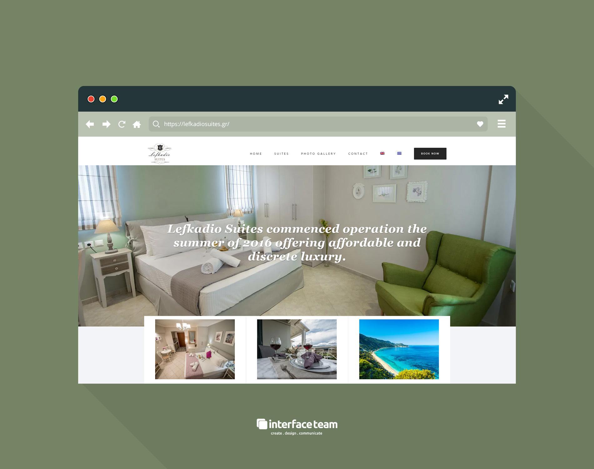 interface-team, κατασκευή ιστοσελίδων