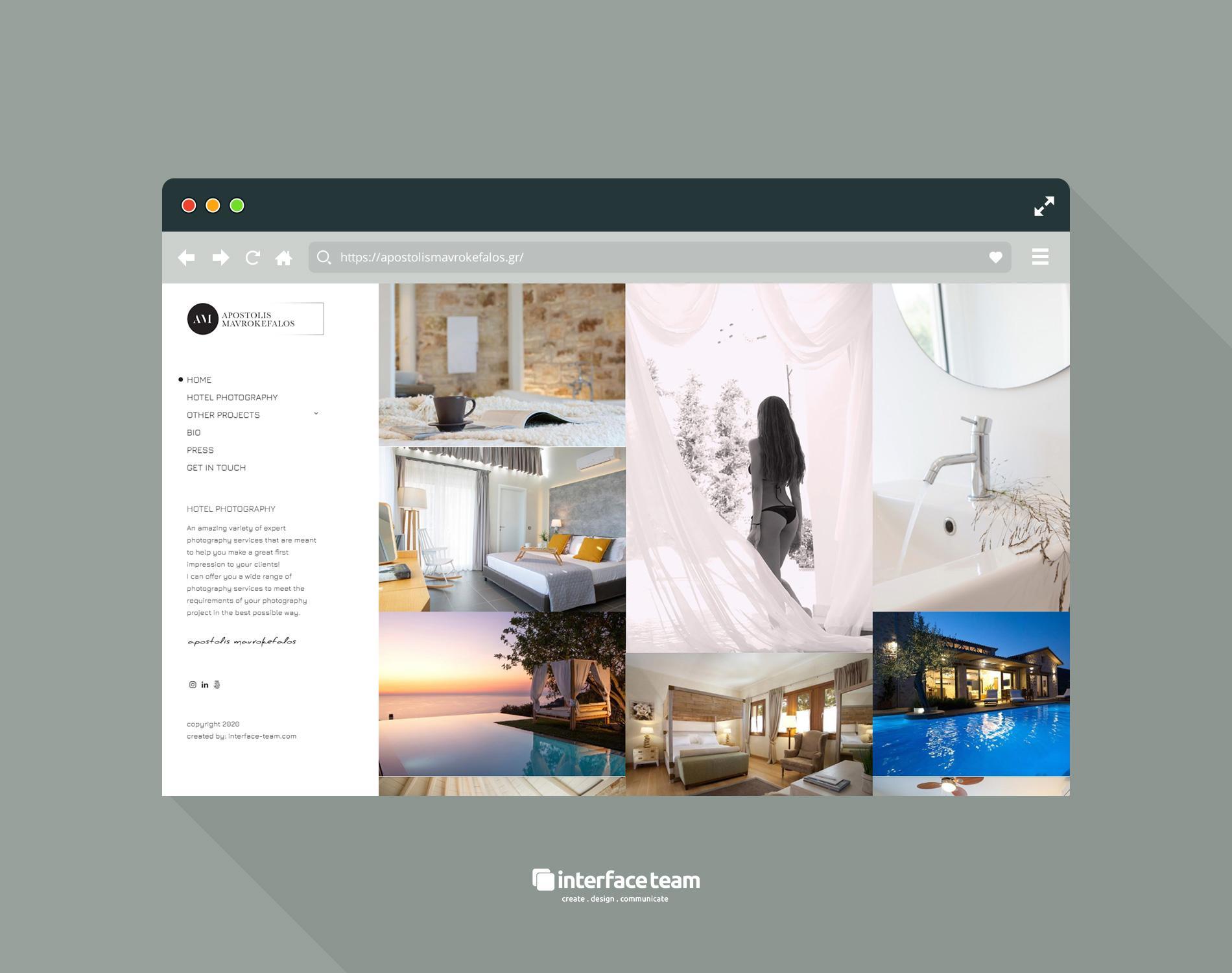 Κατασκευή Ιστοσελίδων - interface-team